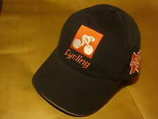 LONDON 2012 OLYMPIC CYCLING LOGO  ADULT BASEBALL CAP HAT RARE NEW WITH TAG
