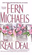 The Real Deal by Fern Michaels (2004, Hardcover)Large Print