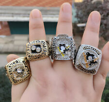 4PCs 1991 1992 2009 2016 Pittsburgh Penguins Stanley Cup Championship Ring Gift!