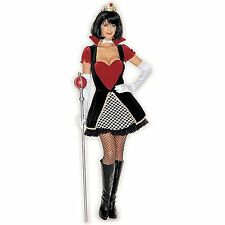 Queen of Hearts Costume Plus Size  Includes Dress, Necklace, Crown