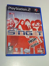 SONY PS2 /// SING IT ! HIGH SCHOOL MUSICAL 3 nos années lycée Complet !