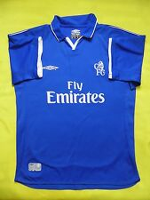 4.9/5 CHELSEA 2001-2003 HOME SHIRT JERSEY FOOTBALL ORIGINAL UMBRO