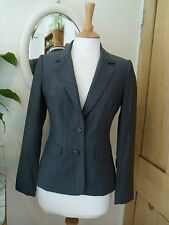 TED BAKER TAILORED JACKET FINE WOOL SIZE 2 10 OFFICE SMART WORK BUSINESS A1