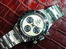Alpha Watch Daytona Paul Newman Chronograph Display Case Back *Ebay Lowest Price