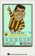 2009 AFL Teamcoach Trading Card Magic Wild Card MW8 Cyril Rioli (Hawthorn)