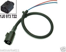Conector Pigtail 2 Way Pin 1j0 973 722 & 1j0973722 Vw Audi Jetta Golf Gt