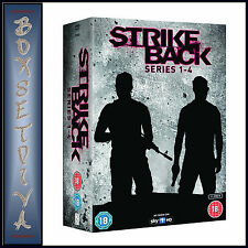 STRIKE BACK  - COMPLETE SERIES 1 2 3 & 4  **BRAND NEW DVD BOXSET**