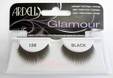 NIB~ Ardell Glamour Lashes #138 False Fake Eyelashes Black Falsies Lash Fashion