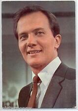 PAT BOONE Cartolina d'epoca 1960s Photo Music Cantante