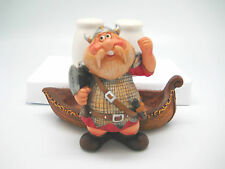 New Collectible Viking Long Ship Collectible Salt and Pepper Set