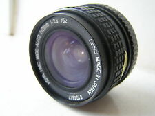 Excellent Pentax PK Mount Hoya Wide Auto 28mm F2.8 Prime Lens SLR Film Camera
