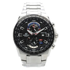 Casio Edifice EFR-550D-1AVUEF Date 100m Chronograph World Time RRP £190.00