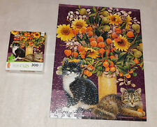 "Posky Christie Ornamental Fruit Ivory Cats Jigsaw Puzzle 300 Pieces 18"" x 24"""