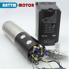 3KW Water Cooled Automatic Tool Change Spindle Motor BT30+3.7KW VFD 380V CNC Kit