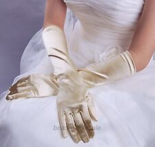 New Satin Long Gloves Opera Wedding Bridal Evening Party Costume Gloves