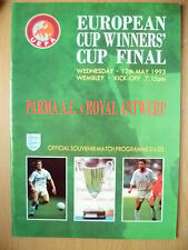 EUROPEAN CUP WINNERS' CUP FINAL 1993- PARMA AC v ROYAL ANTWERP (EXC, ORG)