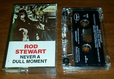 ROD STEWART ''NEVER A DULL MOMENT'' CASSETTE