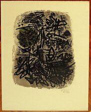 GUILLAUME CORNEILLE  litografia 1960  VOL D'OISEAUX (21)