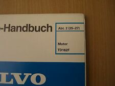 Manuale officina Volvo Camion Motore TD162F 03.1989