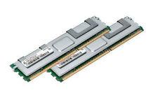 2x 4GB 8GB RAM Intel Server Board S5000PAL S5400XS 667Mhz FB DIMM DDR2 Speicher