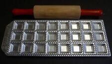 Vintage IPS Torino Raviolamp 24 Ravioli Maker w/ Rolling Pin NEW