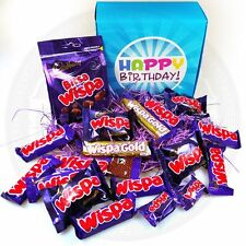 The Ultimate Birthday Box Gift for Him Her Chocolate Lover - Wispa Bars Bites