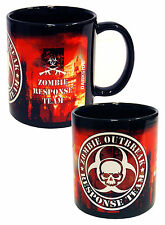 Zombie outbreak red city darkside zombie movie mug zombie cadeau