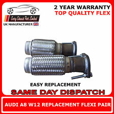 Audi A8 W12 6.0 Replacement Main Cat Exhaust Flexi Pair