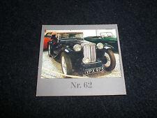 Sammelbild Nr.62 Auto von Rubbellos ca.1991 der Westdeutschen Lotterie