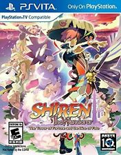 Shiren The Wanderer: The Tower of Fortune Dice of Fate Playstation Vita PSV NEW