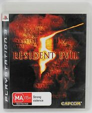 Resident Evil 5 for the Sony PlayStation 3 PS3 [PAL]