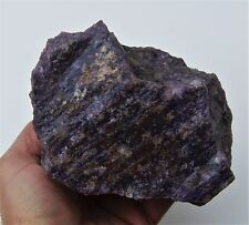 4 3/4 Lbs Purple Lepidolite Rough Lapidary Cabbing Specimen from California AAA+