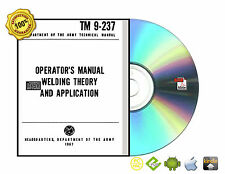 Welding Theory and Application Cutting Testing Print Reading Book On CD