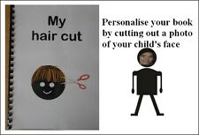 MY HAIR CUT  SOCIAL STORY BOOK autism/SEN/speech delays