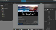 Corel PaintShop Pro X8 + Easy Video Editor 3.0 Download Codes - Never Used