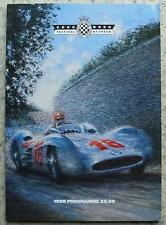 GOODWOOD FESTIVAL OF SPEED Race Meeting Official Programme 1998