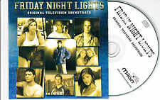 CD CARTONNE CARDSLEEVE COLLECTOR 14T FRIDAY NIGHT LIGHTS TV SOUNDTRACK