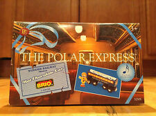 New The Polar Express BRIO~Wooden Railway~Hot Chocolate Musical Train Car 2 Piec