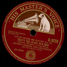 JOHNNY HODGES & HIS ORCHESTRA That's the blues old man / Queen bees  78rpm  X673