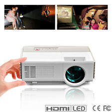 960*640 LCD LED Portable Mini Projector 1080p Home Theater HDMI USB Xbox Game US