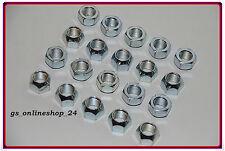 20 Radmuttern Opel Insignia für Stahlfelgen M14 x 1,5 SW 21 NEU .