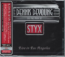 DENNIS DE YOUNG-AND THE MUSIC OF STYX LIVE IN... -JAPAN 2 CD BONUS TRACK G88