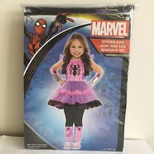 NEW, Marvel Spider-Girl Arm and Leg Warmers Kit  for Girls  Ages 4 and Up