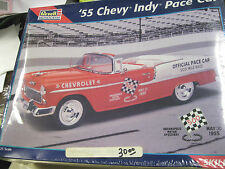 REVELL/MONOGRAM, 1955CHEVY BELAIR CONVERT. INDY PACE CAR MODEL KIT