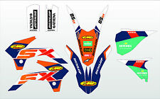 2013 - 2015  KTM SX 85 GRAPHICS KIT DECALS STICKERS