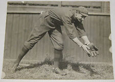 Antique 1914 CHARLIE DEAL Boston Braves BASEBALL PLAYER Photograph -Chicago Cubs