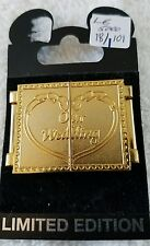 "DISNEY PINS~LE 5000~""OUR WEDDING""~MICKEY & MINNIE~MINT"