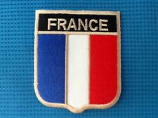 France French Crest Country Flag Embroidered National Sow Sew On Patch Badge