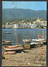 Posted C1975 View of Coast & Cadaques, Spain