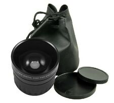58mm 0.21X Wide Fisheye Lens + Bag for Canon 6D 7D 70D 60D 700D 650D 1100D 600D
